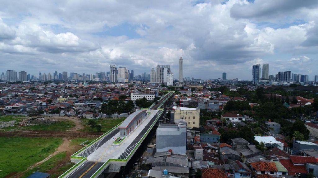 Kapan Jalur Busway Layang Ciledug-Tendean Dibuka?