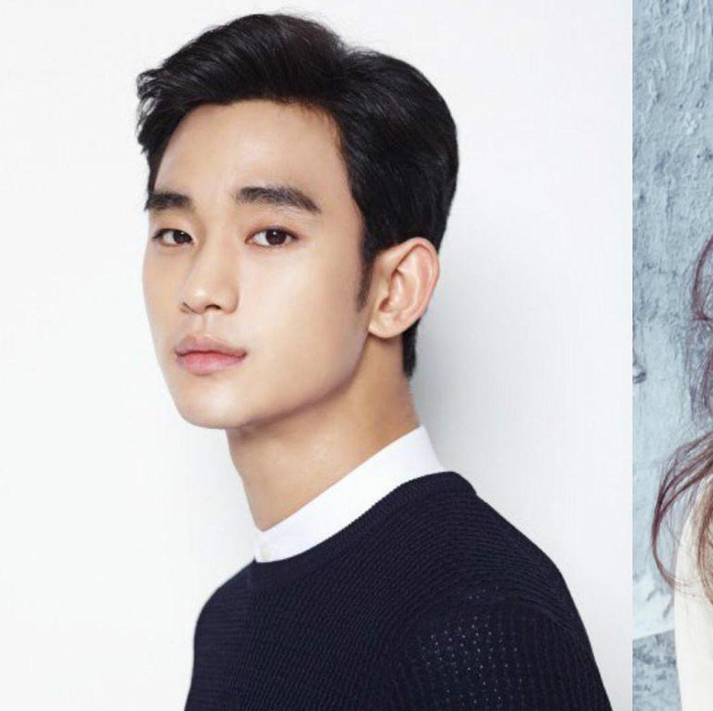 Manajemen Bantah Kabar Pernikahan Kim Soo Hyun dan Sohee