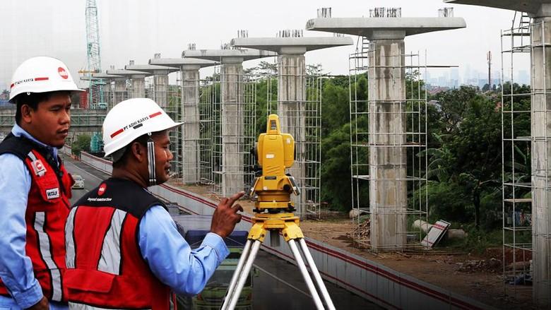 Bangun LRT Jabodebek, Adhi Karya dan KAI Dapat Suntikan Modal