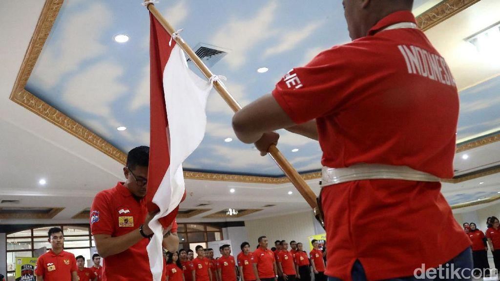 Pelepasan Kontingen Indonesia untuk Asian Winter Games