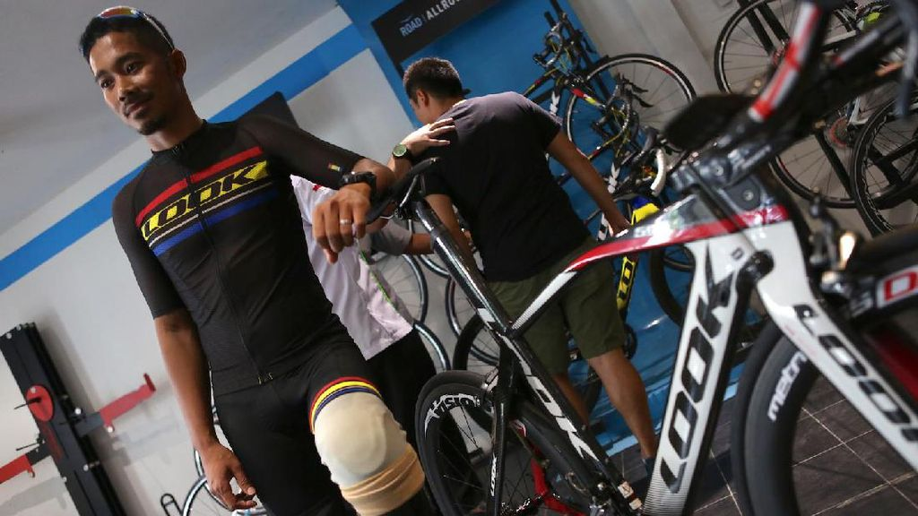 M. Fadli: Kecelakaan di Sirkuit Sentul hingga Jelang Kejuaraan Asia Para-Cycling