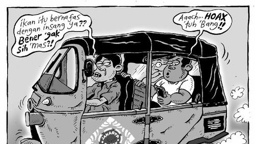 Kartunis Mice: Lawan Hoax dengan Kartun!