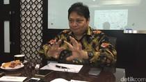 Novanto Tersangka, Airlangga: Tak Ada Pergantian Ketum Golkar