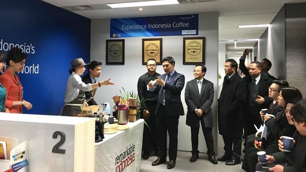 Lewat Kopi, Promosi Wisata Indonesia Disambut Baik Korea Selatan