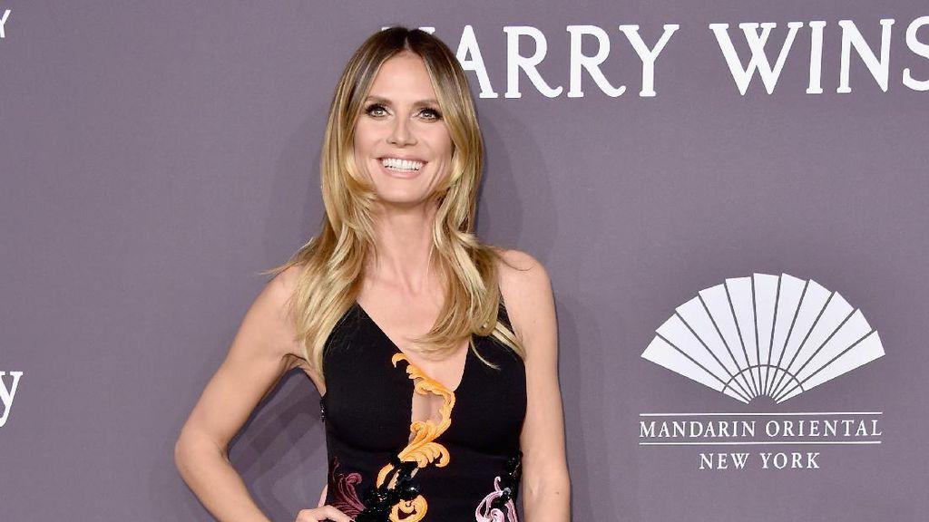 Heidi Klum Merasa Lebih Percaya Diri Saat Tak Pakai Baju