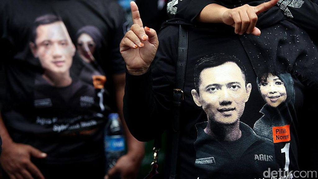 Agus-Sylvi Gelar Kampanye Akbar #SATUkanJakarta, SBY Hadir