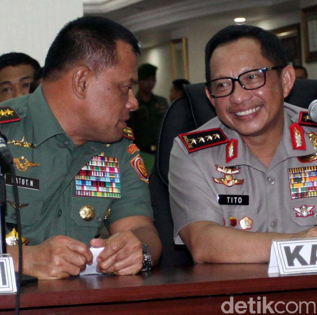 Polri: TNI Silakan Bantu Atasi Terorisme, Tapi HAM Tetap Dijaga