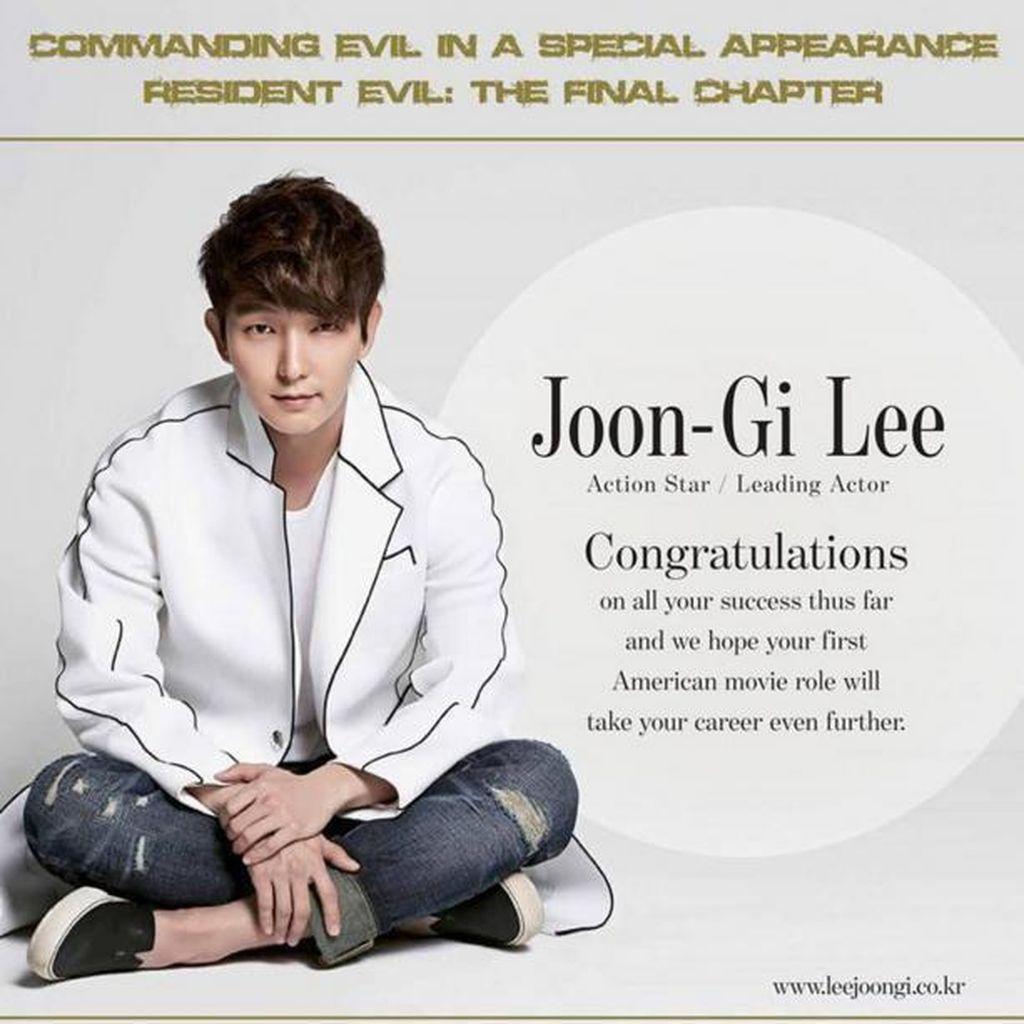 Daebak! Fans Lee Junk Ki Ucapkan Selamat Lewat Iklan Koran