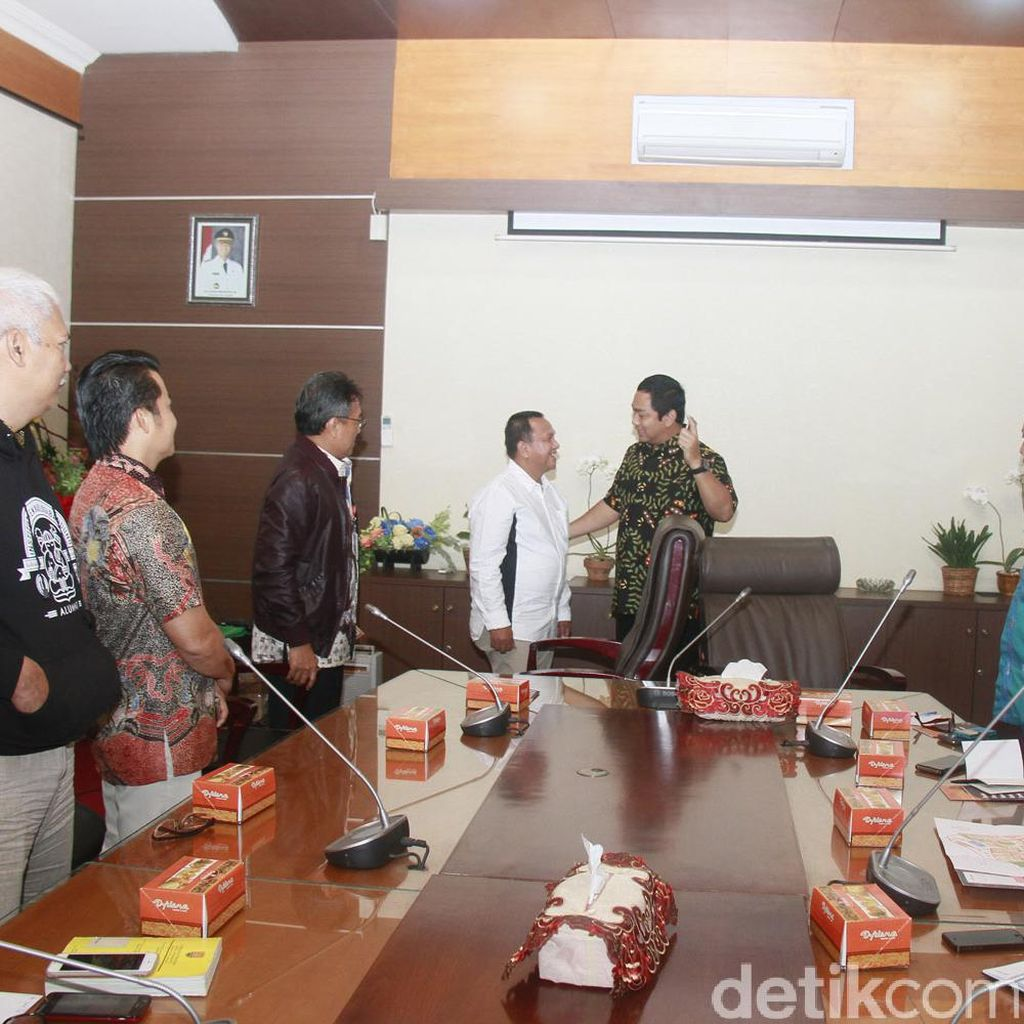 Wali Kota Sawahlunto Terkesan Pengelolaan Kota Lama Semarang