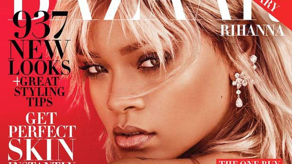Rihanna Jadi Pilot Wanita Seksi di Pemotretan Majalah Bazaar