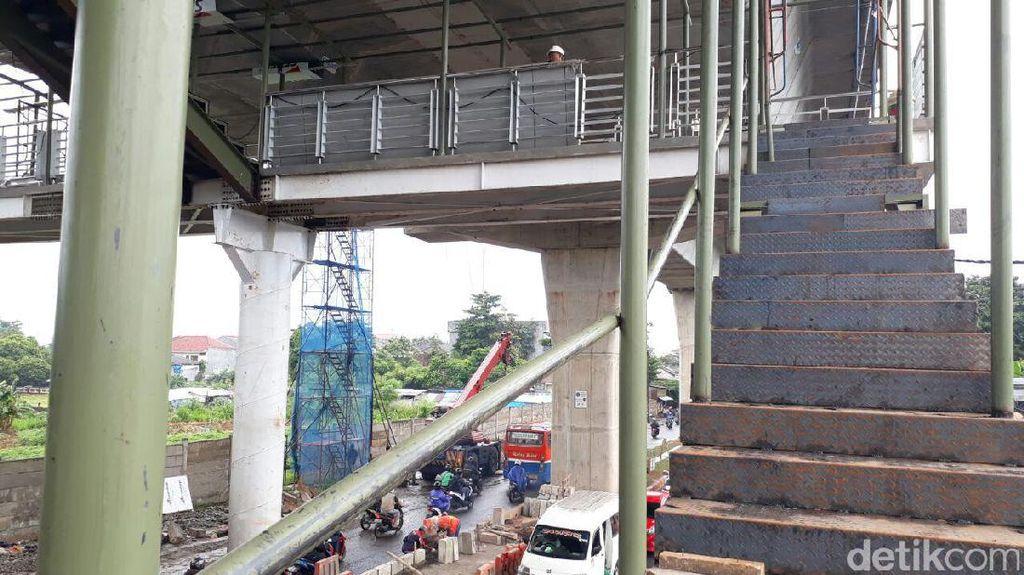 Jalur Layang Busway Ciledug-Tendean Ditargetkan Beroperasi Juni 2017