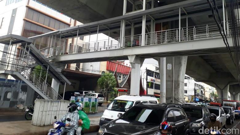 Bakal Ada Eskalator Hingga Lift di Halte Busway Layang Ciledug-Tendean