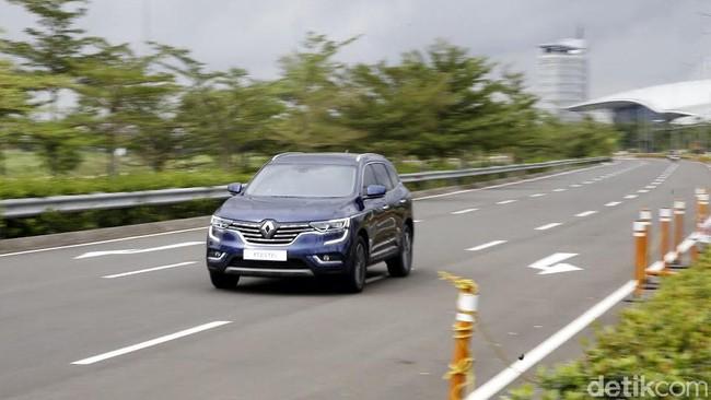 Menguji Keandalan SUV Renault Koleos