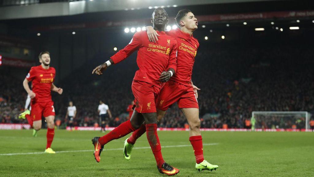 Liverpool Tinggal Berjuang untuk Posisi Empat Besar