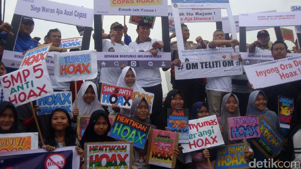 Deklarasi Lawan Hoax, Bupati Banyumas: Kita yang Harus Mencegah