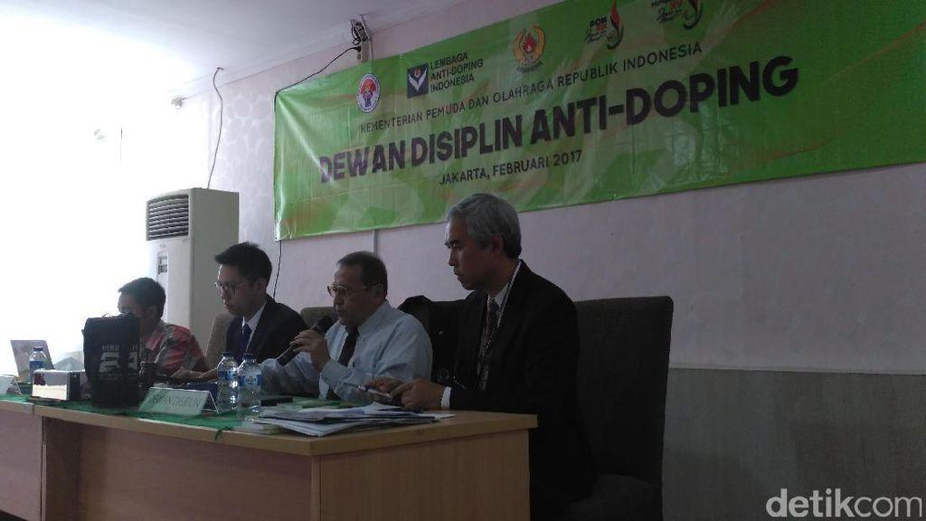 Dewan Disiplin Umumkan Putusan Doping Dua Pekan Lagi