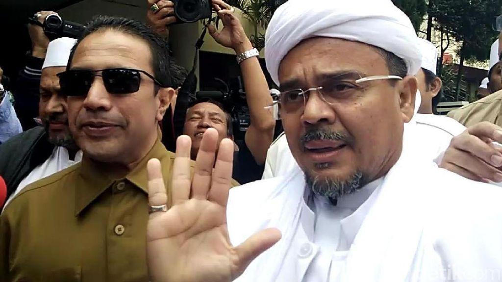 726 Pengacara Siap Bela Habib Rizieq Hadapi Kasus Hukum