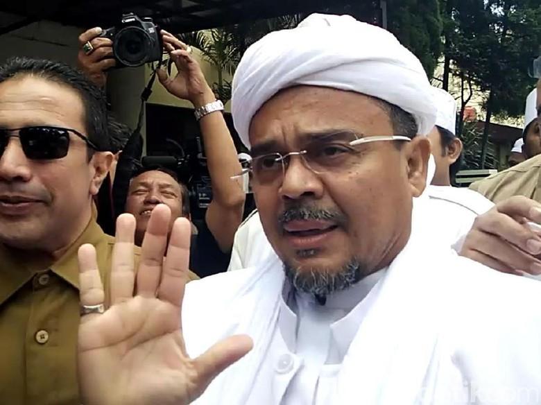 Imbauan dan Pesan Polisi untuk Habib Rizieq yang Berada di Saudi