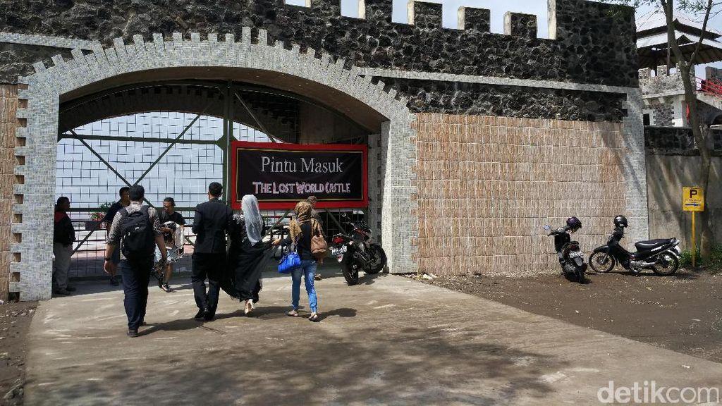 Akhirnya Kastel Megah di Kawasan Rawan Bencana Lereng Merapi Ditutup