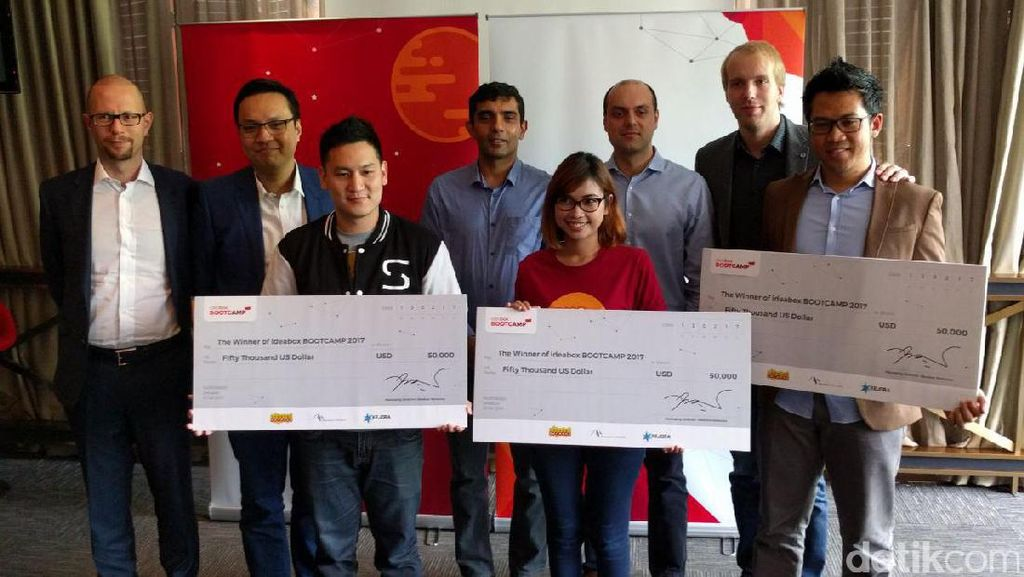 Tiga Startup Lokal Dikucuri Hadiah Rp 666 Juta