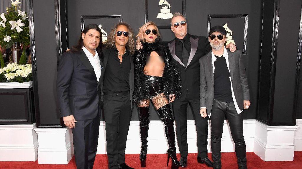 Metallica Buka Peluang Duet dengan Lady Gaga Berlanjut