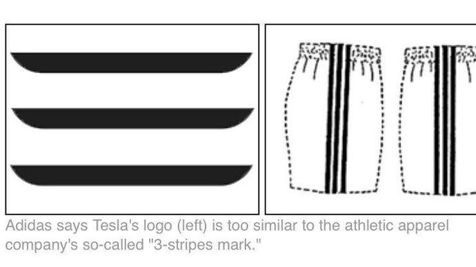 Ini Logo Tesla yang Buat Gerah Adidas