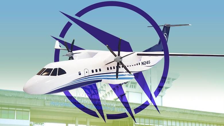 PTDI Siapkan Pesawat N245 untuk Transportasi Jarak Dekat Antarkota