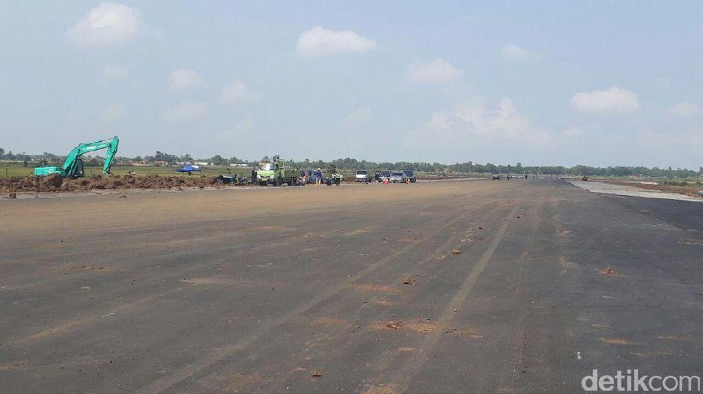 Pembangunan Runway Bandara Terbesar Jawa Barat Capai 80%