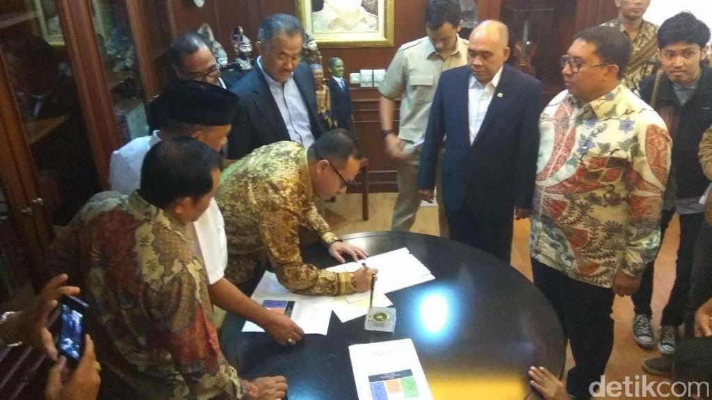 13 Anggota DPR Fraksi Gerindra Usul Pansus Angket Ahok-Gate