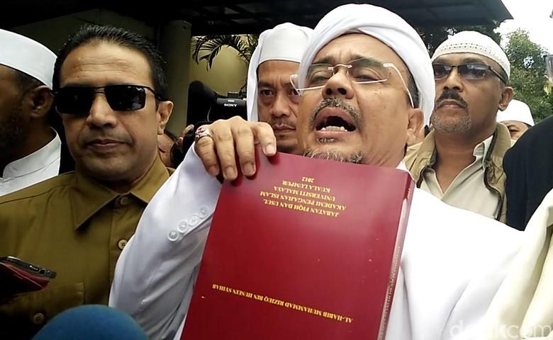 Polda Jabar Limpahkan Kasus Habib Rizieq ke Kejaksaan