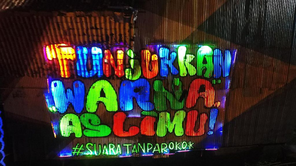 Video: Cantiknya Mural Anti-rokok di Kali Code Yogyakarta