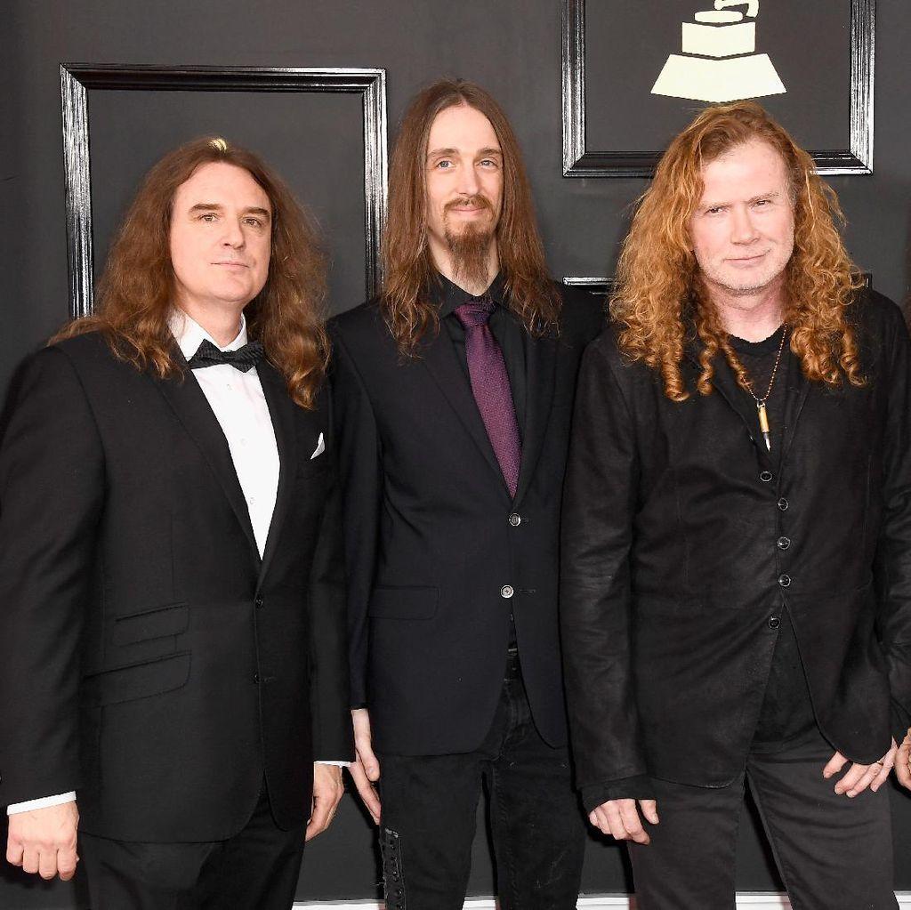 Hammersonic Bakal Lebih Seru karena Kemenangan Megadeth di Grammy