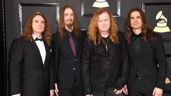 Dystopia Megadeth Raih Best Metal Performance
