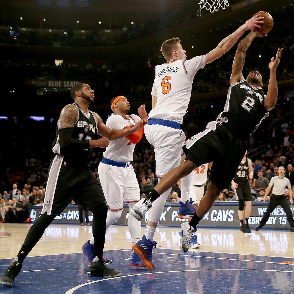 Atasi Spurs, Knicks Akhiri Rentetan Kekalahan