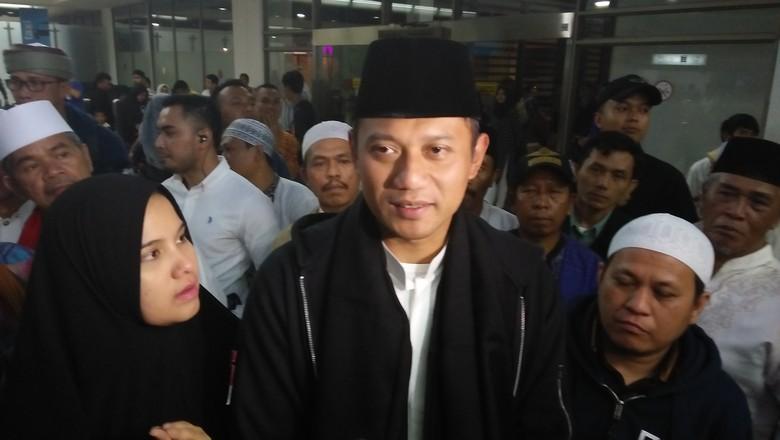 Pulang Umrah Agus Yudhoyono Ungkap Isi Doanya