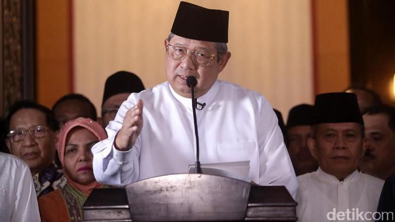 Agus Akui Kekalahan, SBY Nonblok di Putaran Dua?