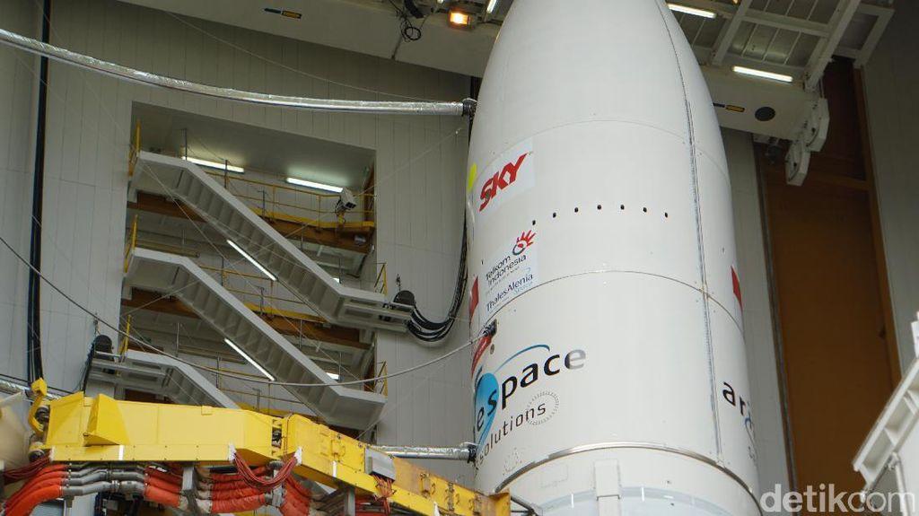 SpaceX Masih Dipercaya Luncurkan Satelit Telkom 4