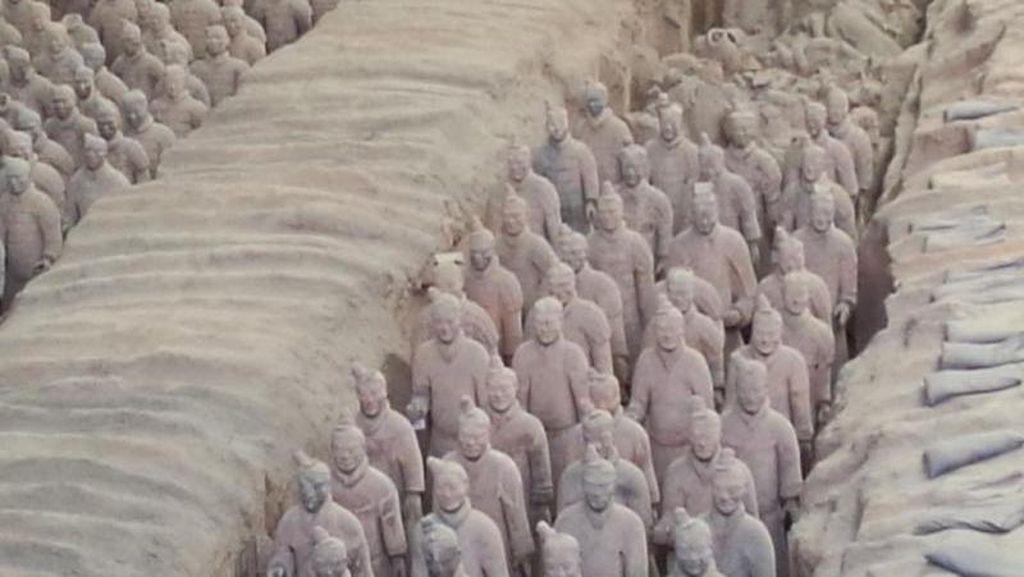 Bertemu Ribuan Patung Prajurit Terakota di Xian