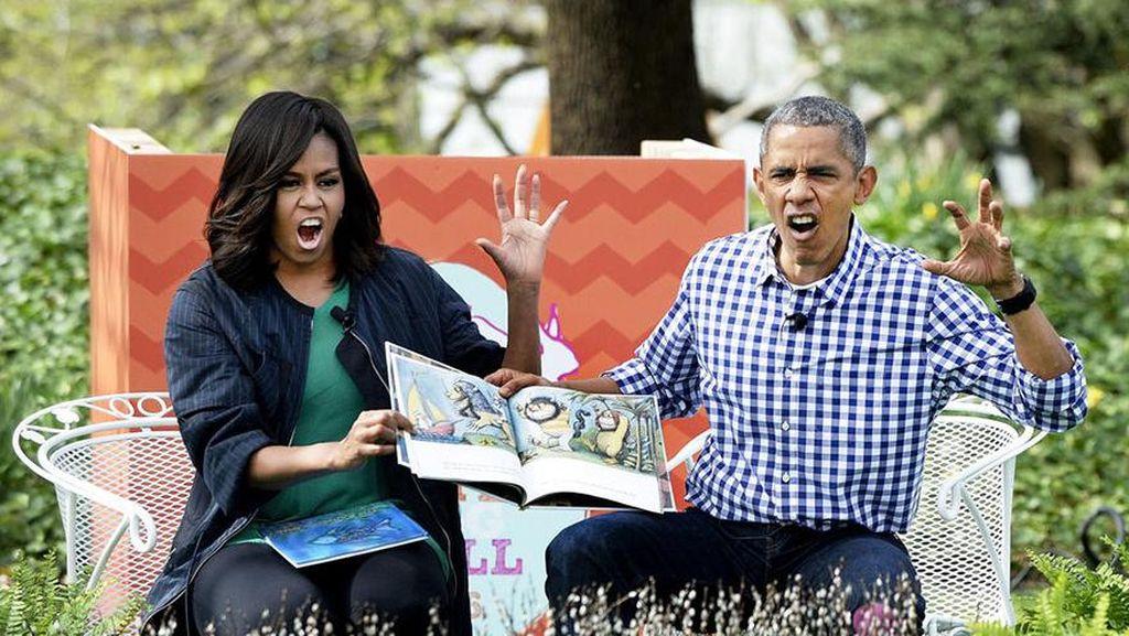 Obama 'Mudik' ke Indonesia, Netizen Bersorak #WelcomeMrObama