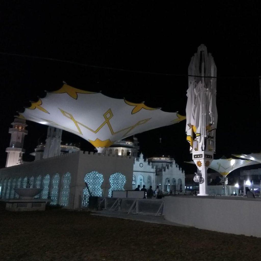 Masya Allah, Cantiknya Kembaran Masjid Nabawi di Aceh