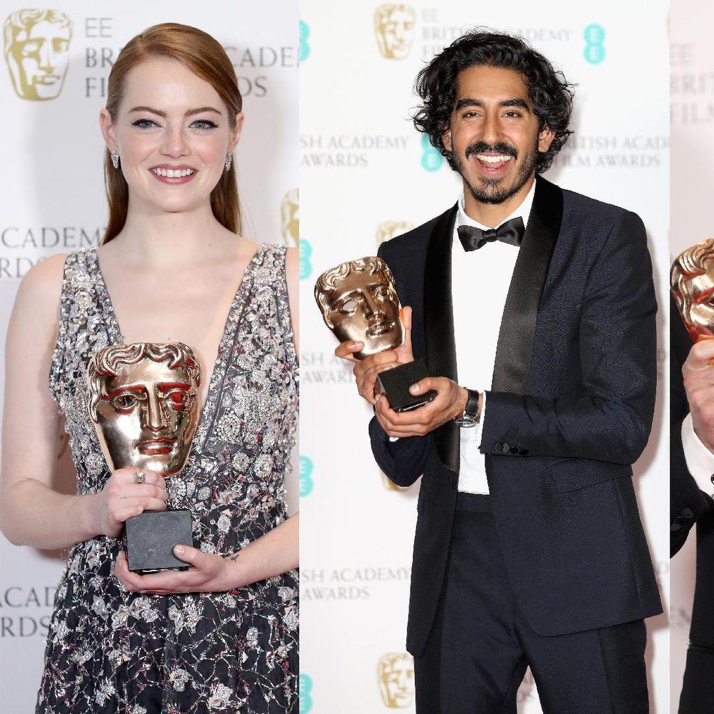 Wajah <i>Happy</i> Para Pemenang BAFTA 2017