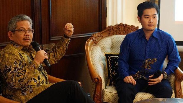 Pertemuan Duta Besar RI London, Dr. Rizal Sukma, dengan Young Indonesian Professionals' Association di Wisma Nusantara London