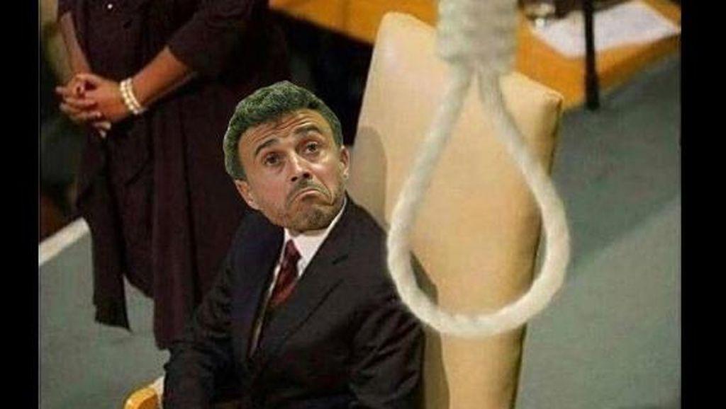 Dibantai PSG, Barcelona Jadi Bulan-bulanan Meme