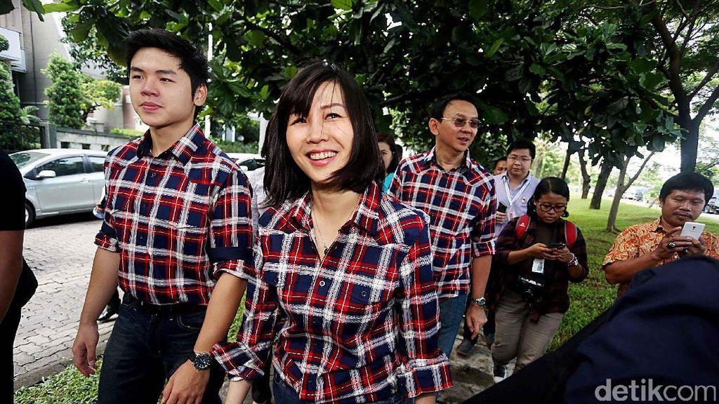 Cantiknya Veronica Tan, Istri Ahok Tampil Kasual dengan Kemeja dan Jeans