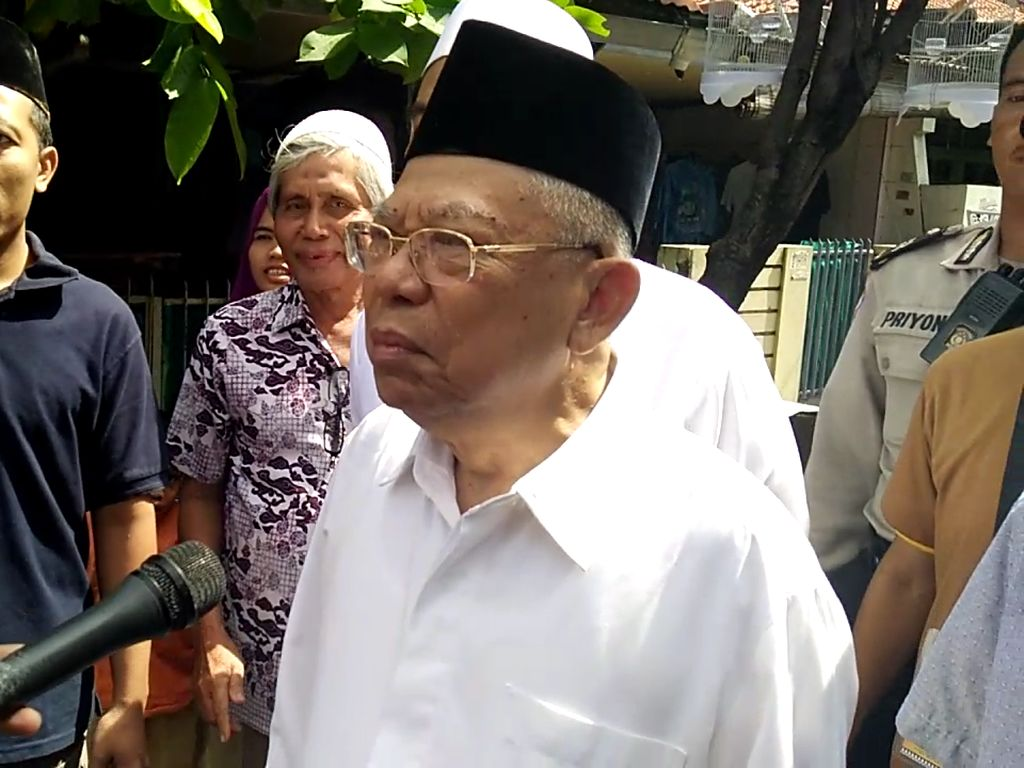 Maruf Amin: Aksi 212 Politis, Saya Larang Umat Islam Ikut Itu