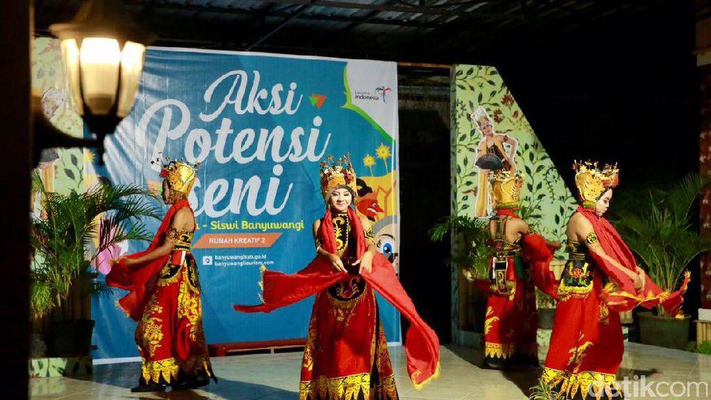 Lestarikan Budaya, Banyuwangi Gelar Atraksi Seni Budaya Tiap Hari