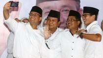 Prabowo: Kita Harus Tuntut Bukti Gubernur-Wagub DKI yang Baru