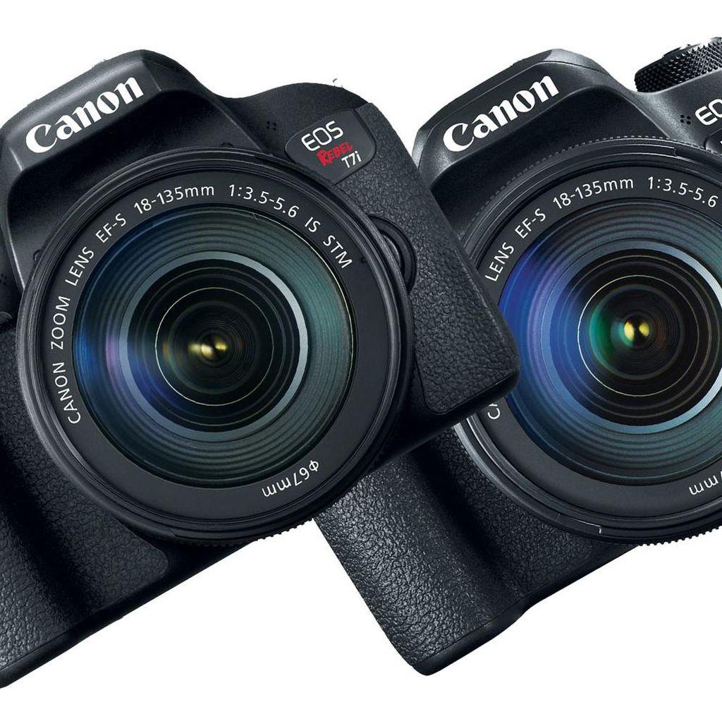 EOS 77D dan Rebel T7i Jadi Senjata Baru Canon