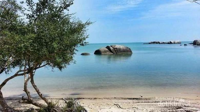 Pantai indah di Belitung (Agung Pambudhy/detikTravel)
