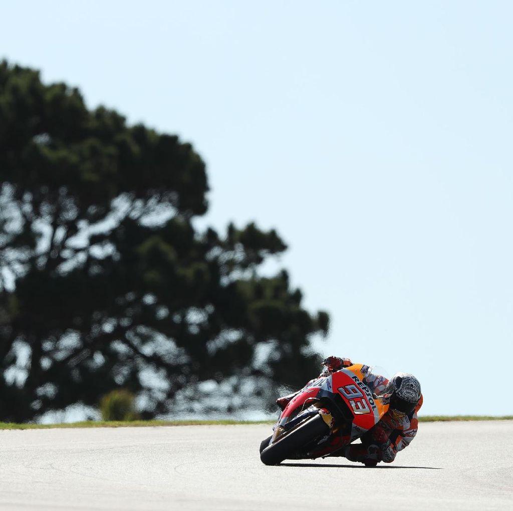Marquez Tercepat di Hari Pertama